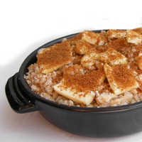 Image of an apple crumble
