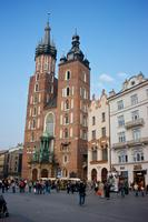 The Basilica of St Mary in Krakow