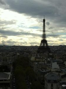 View of Paris from Arc du Triomphe