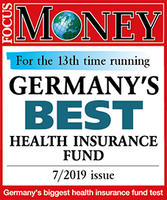 Germany`s best health insurance fund